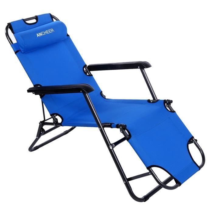 Chaise pliante inclinable chaise ext rieur chaise - Chaise pliante exterieur ...