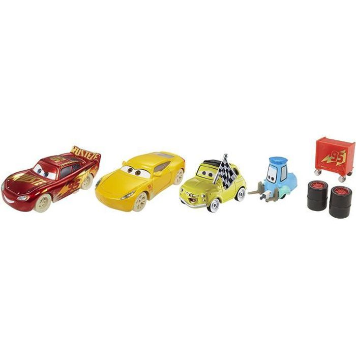 fireball beach race lot de 4 voitures cars 3 achat. Black Bedroom Furniture Sets. Home Design Ideas