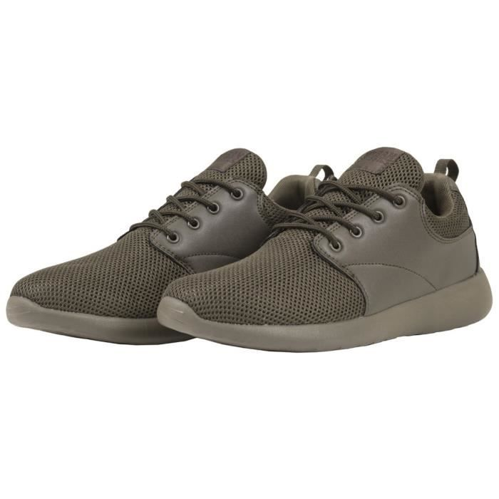 Urban Classics - LIGHT RUNNER Chaussures olive
