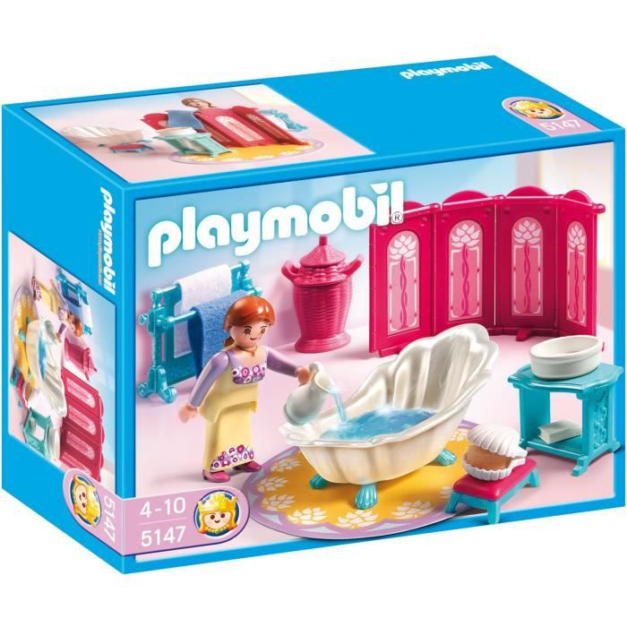 Playmobil les princesses achat vente playmobil les for Playmobil chambre princesse