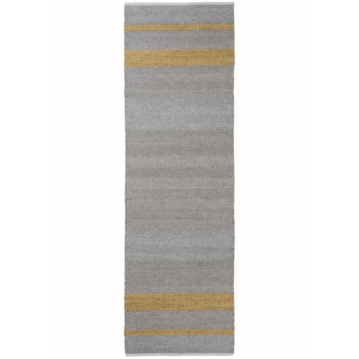 tapis kilim long pour entree norwich jaune 170x240 par unamourdetapis tapis moderne achat. Black Bedroom Furniture Sets. Home Design Ideas