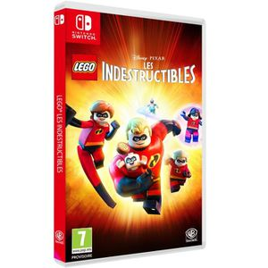 JEU NINTENDO SWITCH LEGO Disney/Pixar LES INDESTRUCTIBLES Jeu SWITCH