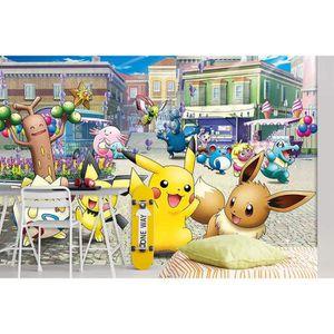 PAPIER PEINT AJ WALLPAPER 3D Mignon Pokemon Enfant 526 Japan An