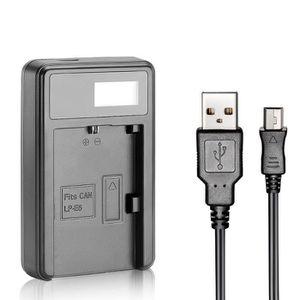 CHARGEUR APP. PHOTO USB Chargeur de Batterie pour LP-E6 Batterie Recha