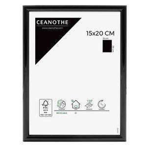 CADRE PHOTO Cadre photo Expo noir 15x20 cm - Ceanothe, marque