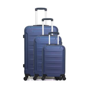 SET DE VALISES SET DE 3 VALISES | ABS – 70cm – 4 roues – ELBE-A –