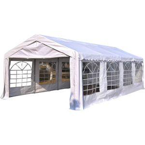 TONNELLE - BARNUM Outsunny Tente Tonnelle de Réception Jardin Chapit