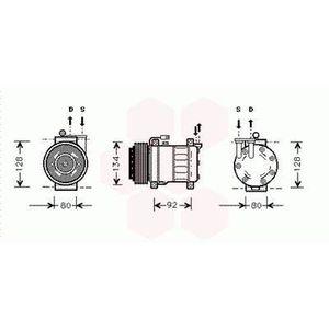 COMPRESSEUR AUTO Compresseur de Climatisation Alfa Romeo 156 ( 2.0i