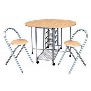 Meuble de cuisine avec table integree achat vente for Table integree meuble cuisine