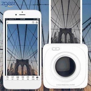 CARTOUCHE IMPRIMANTE Imprimante photo Portable Bluetooth 4.0 Imprimante