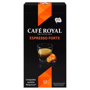 CAFÉ Café Royal - Café Royal Espresso Forte (lot de 40