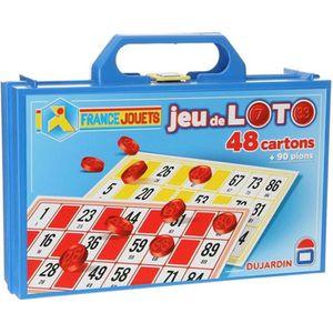 JEU SOCIÉTÉ - PLATEAU DUJARDIN - Loto - 48 cartons
