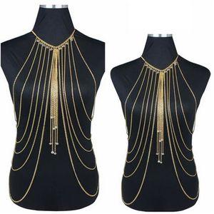 CHAINE DE TAILLE - CHAINE D'EPAULE 1pcs femmes estivale collier de chaîne de corps de