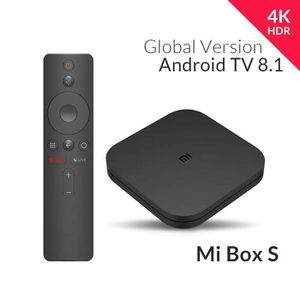 BOX MULTIMEDIA Xiaomi Mi Box S (Version UE) Lecteur multimédia 4K