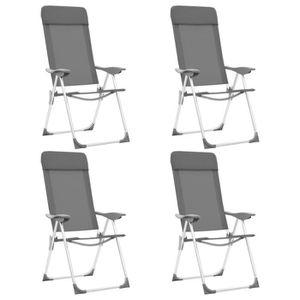 CHAISE LONGUE Fauteuil de jardin pliant en aluminium Chaise de R