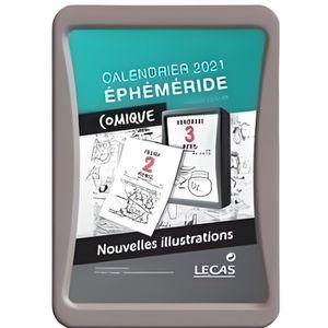 CALENDRIER - EPHEMERIDE LECAS Calendrier Ephéméride 100735503 - 6 x 9 cm -