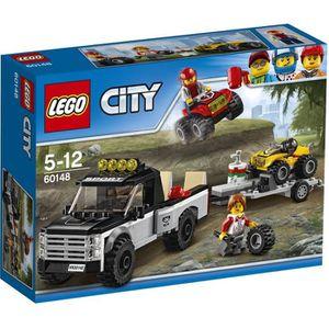 ASSEMBLAGE CONSTRUCTION LEGO® City 60148 L'Équipe de Course Tout-Terrain