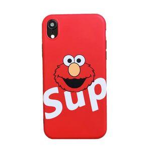 COQUE - BUMPER Coque iPhone 11,Supreme Rouge Antichoc 1 Premium C
