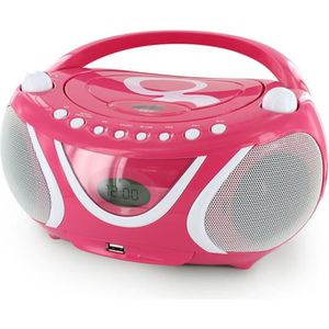 RADIO CD ENFANT MET 477148 Radio CD-MP3 by Gulli Rose