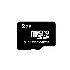 CARTE MÉMOIRE SILICON POWER Carte Micro SD 2 Go