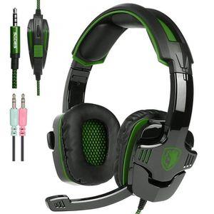 CASQUE AVEC MICROPHONE Neuf Xbox One PS4 Casque Gaming, SADES SA930 Casqu