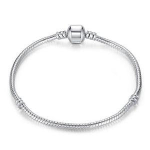 BRACELET - GOURMETTE BAMOER Bracelets Femmes avec 925 Argent fin Bracel