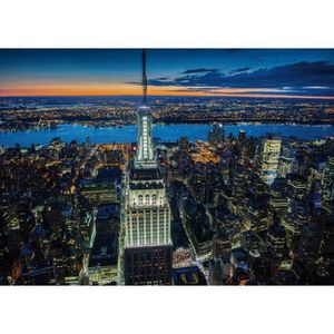 PUZZLE Puzzle 1000 pièces New York by Night