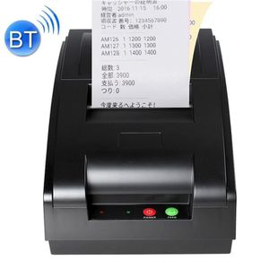 IMPRIMANTE Etiqueteuse QS-7601 Imprimante matricielle portati