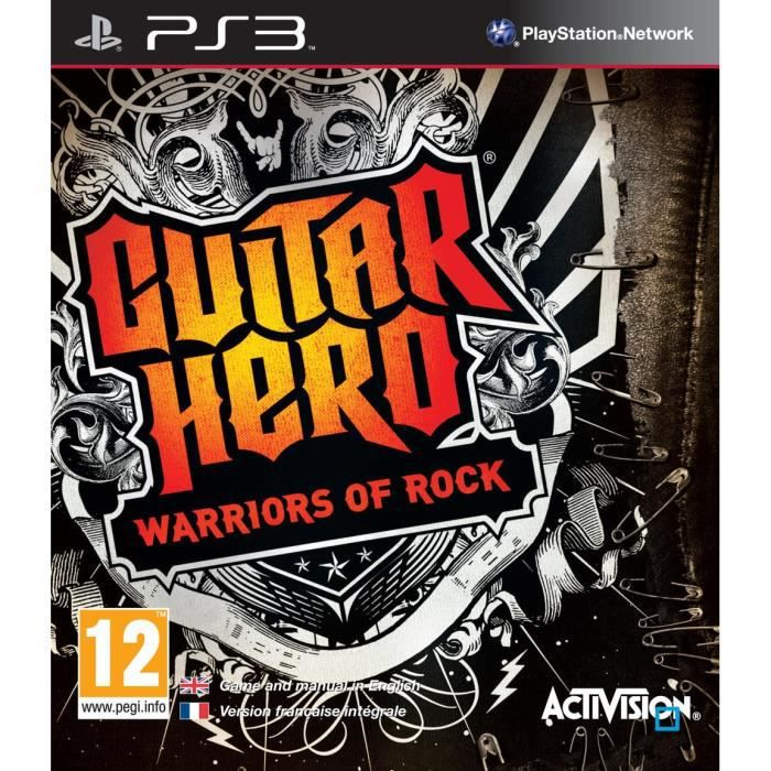 JEUX PS3 GUITAR HERO : Warriors of Rock / Jeu console PS3