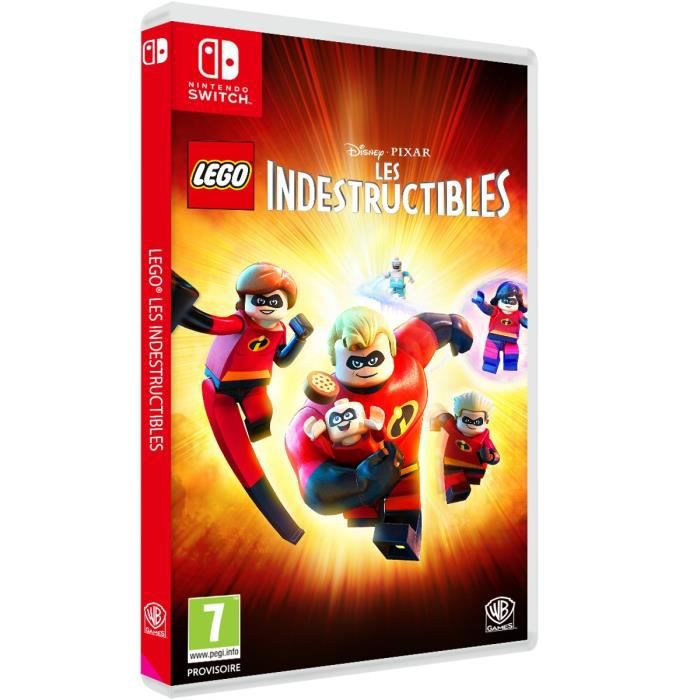 LEGO Disney/Pixar LES INDESTRUCTIBLES Jeu SWITCH