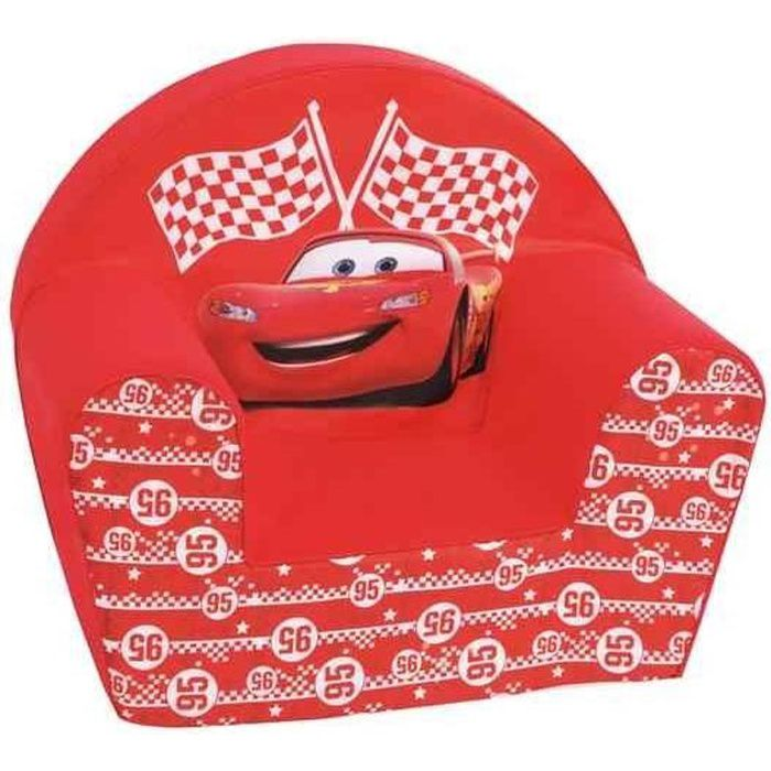 CARS Fauteuil Club McQueen Rouge - Disney