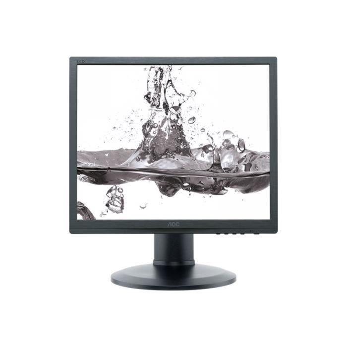 AOC Pro-line I960PRDA Écran LED 19- (19- visualisable) 1280 x 1024 IPS 250 cd-m² 1000:1 14 ms DVI-D, VGA haut-parleurs noir