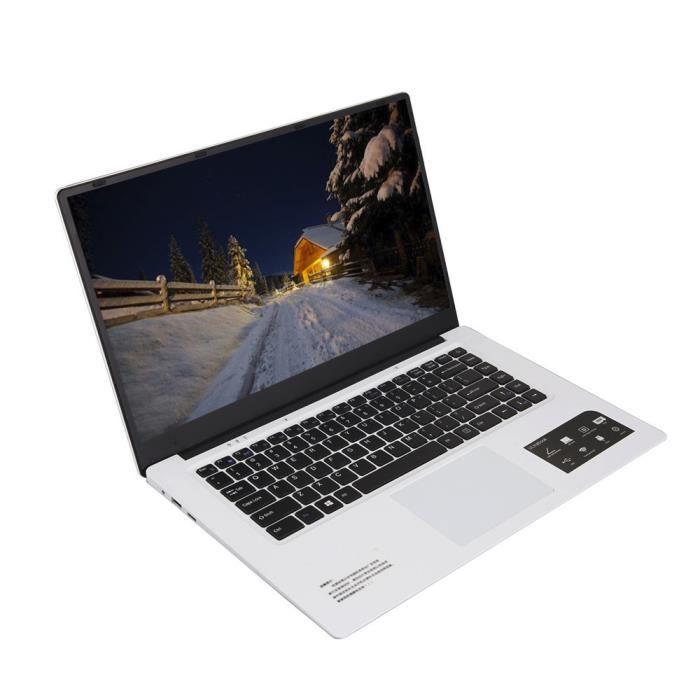 Quad Core ultra mince ordinateur portable 15.6''Screen écran 1366 * 768pixel 4G + 64G Windows 10 @Nihapai3349