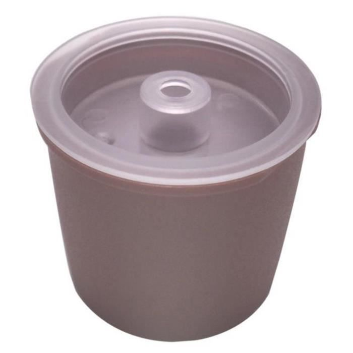 Capsule réutilisable de filtre à café adaptée au goutteur de capsule de café Illy @wudgfe5357