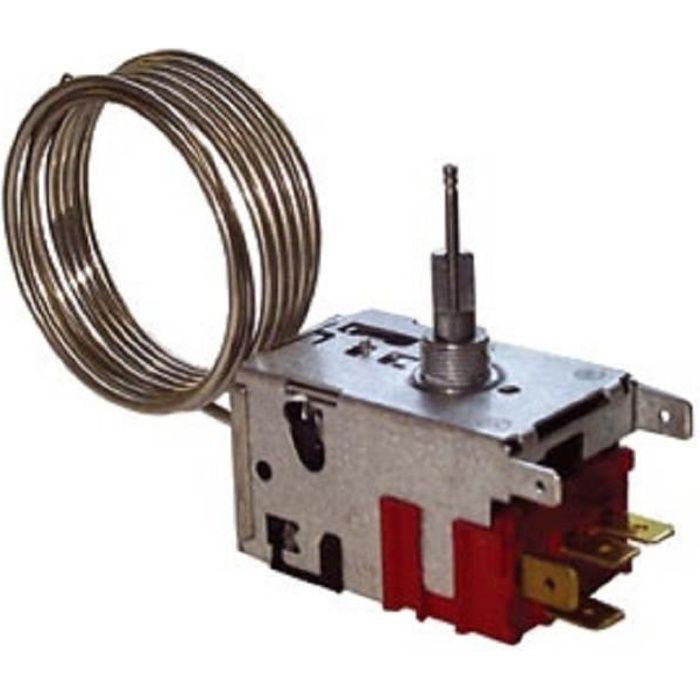 077B7002 KIT THERMOSTAT pour réfrigérateur ARTHUR MARTIN ELECTROLUX FAURE - BVMPIECES