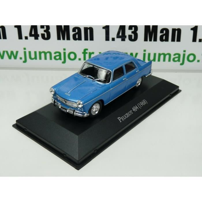 ARG13 Voiture 1/43 SALVAT Autos Inolvidables : Peugeot 404 (1968)