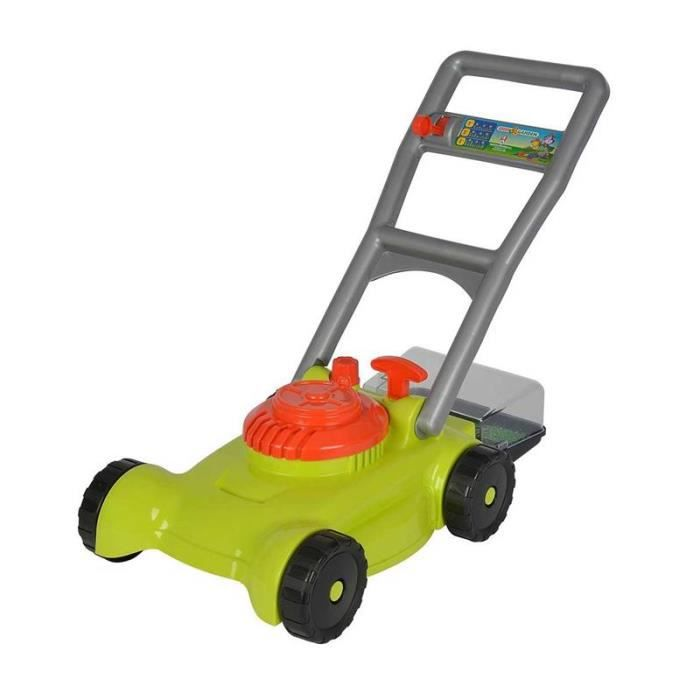 Simba Toys 107137716 Tondeuse à gazon - Vert - orange