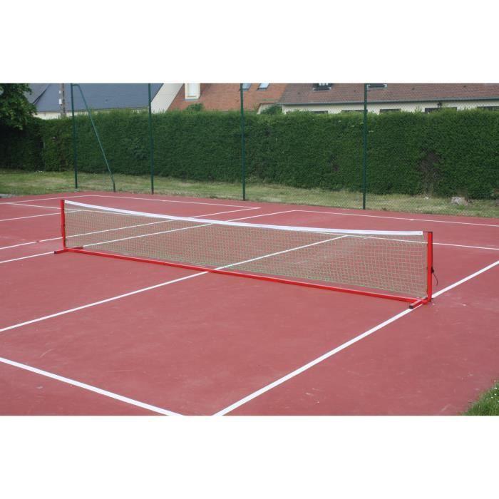 Jeu de tennis mobile 6 m vendu sans filet