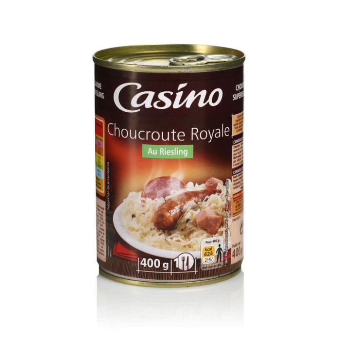 Choucroute royale au Riesling - 400g