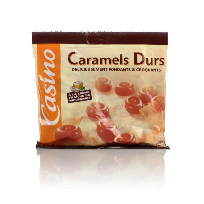 CASINO Caramels durs fondants et croquants - 175 g
