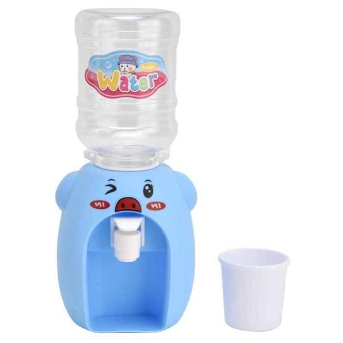 ESTINK Jouet distributeur d'eau Mini dessin animé boisson distributeur d'eau jouet Simulation distributeur d'eau jouet de cuisine