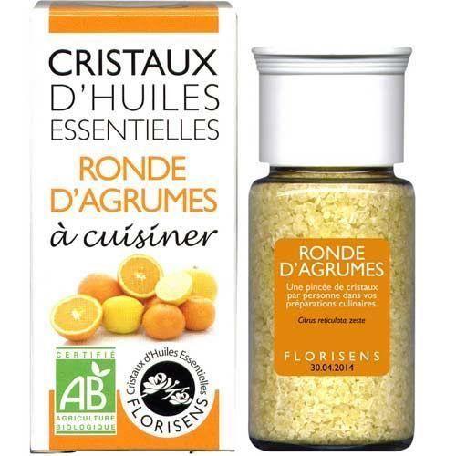 Cristaux d huiles essentielles Ronde d Agrumes …