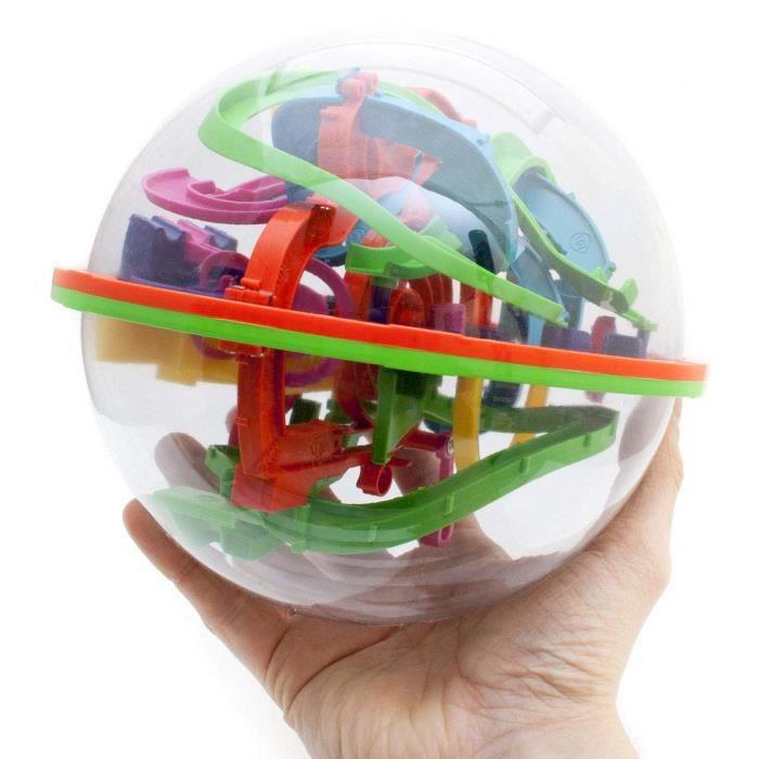 Goods & Gadgets Maze kugellabyrinth kugelspiel 3D Magic Puzzle Ball Boule-Labyrinthe Jeu d'adresse 20 cm Taille XXL 734
