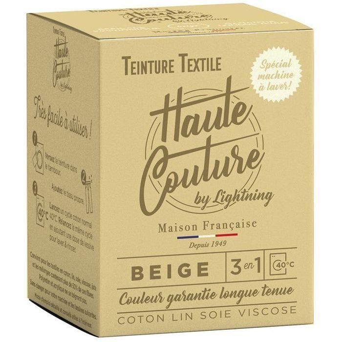 Teinture textile haute couture beige 350g