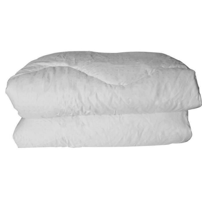 Couette Enveloppe Coton Protection Blanc 240 x 280 cm