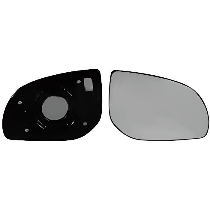 Glace / Miroir rétroviseur droite pour HYUNDAI I phase 2 i10 2010-2012 avec support fixation, Neuf.
