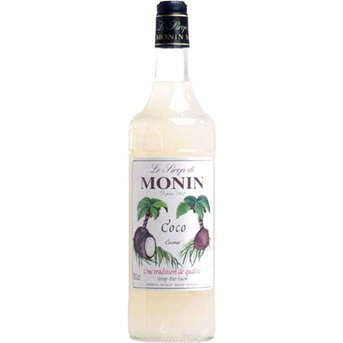 Bouteille de sirop Monin coco