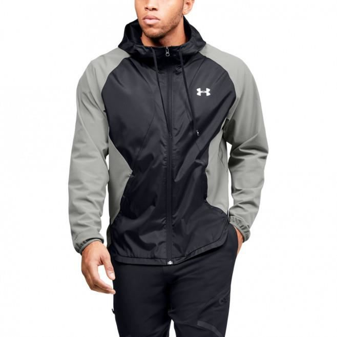 Veste coupe-vent Under Armour STRETCH WOVEN FULL ZIP