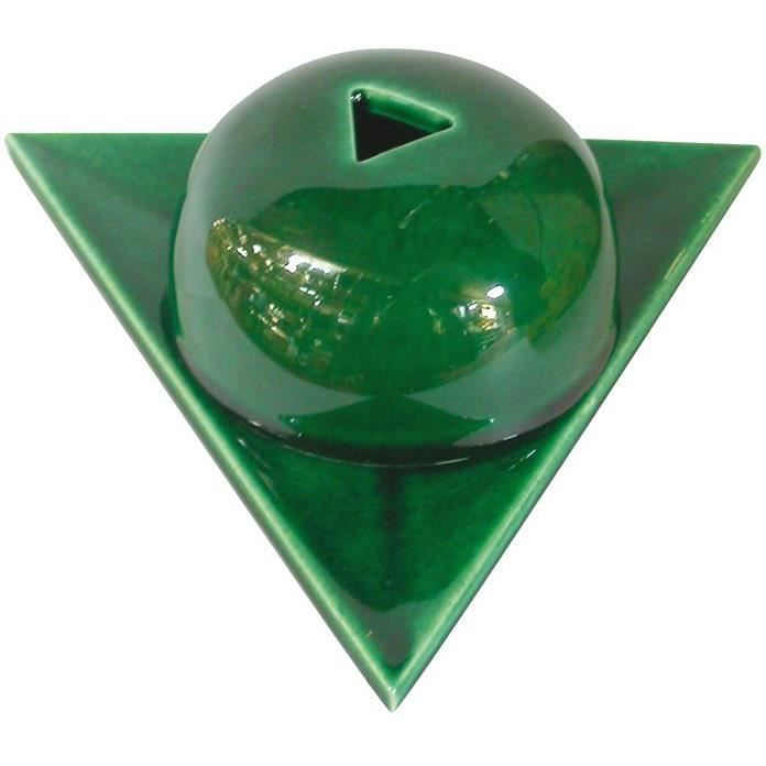 Brûleur en céramique - vert