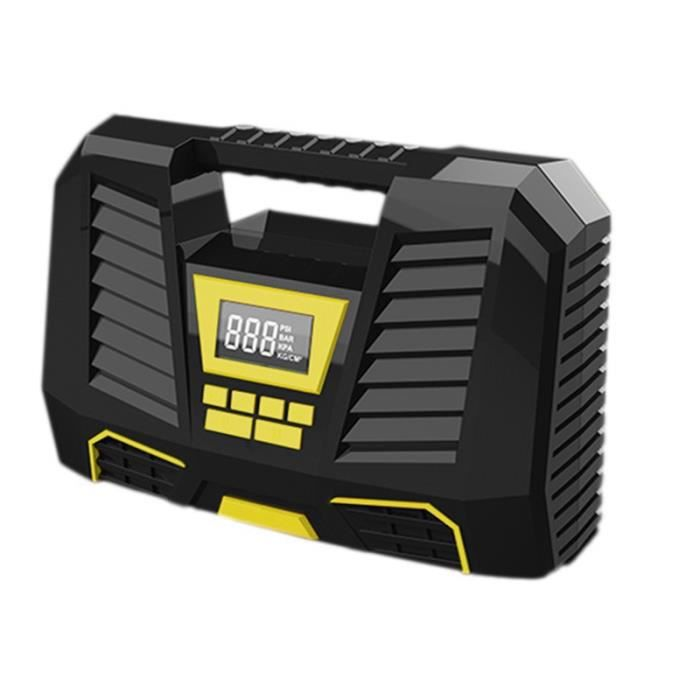 Carsun Compresseur D'Air Portable Câblé de Voiture pour Pneus de Voiture Gonfleur de Pneu NuméRique 12V DC avec Affichage